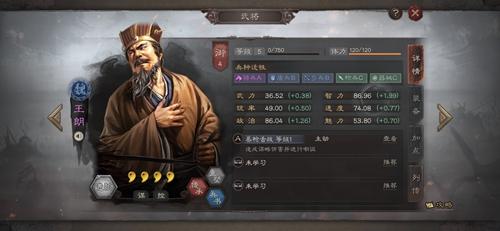 三国志战略版王朗图片