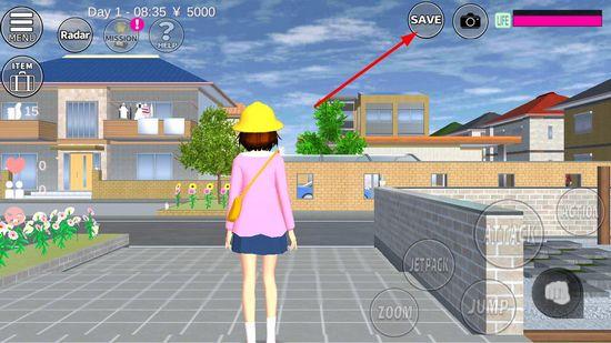 樱花校园模拟器英文版图片1