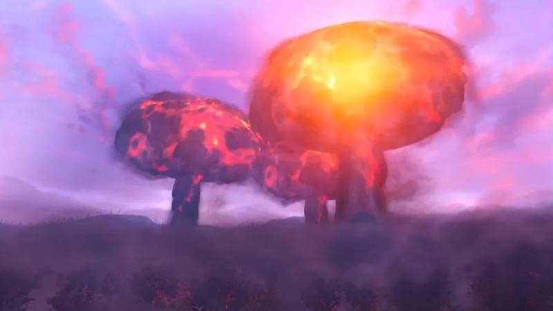 真正的勇士无视核弹:《辐射76》废土客NPC几乎不受核弹影响