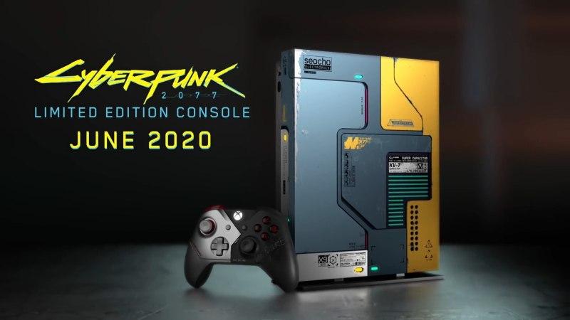 NO FUTURE!《赛博朋克 2077》限制版 Xbox One X 揭露