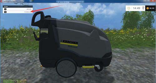 模拟农场17洗车方法图
