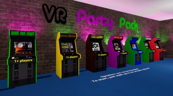VR派对游戏包截图3