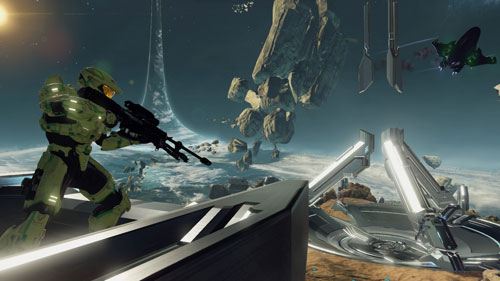 《光环2周年纪念版》游戏截图