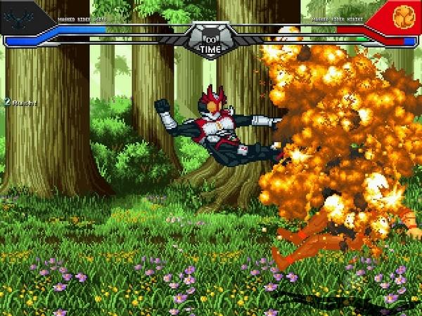 假面骑士大乱斗游戏图片5