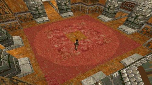 古墓丽影1游戏截图