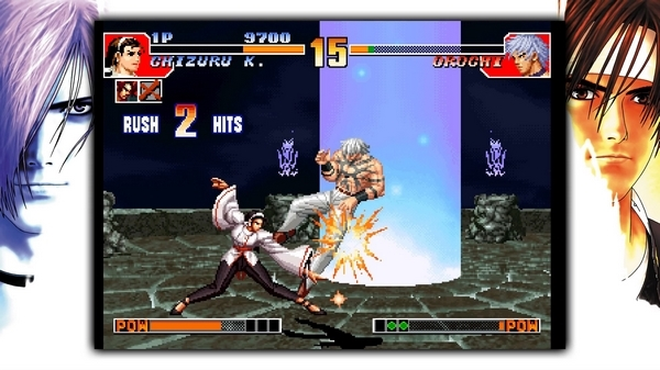 拳皇97街机版游戏图片1