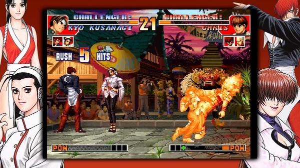 拳皇97街机版游戏图片8
