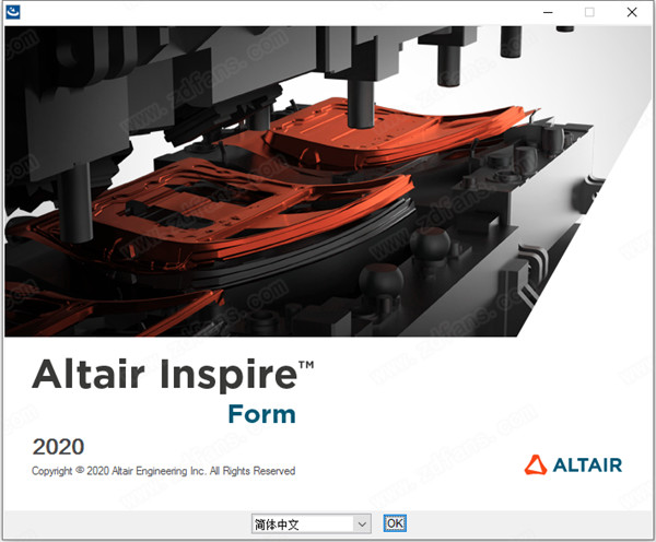 Altair Inspire Form2020安�b教程2