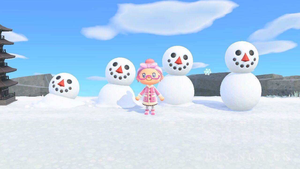 动物森友会雪球1