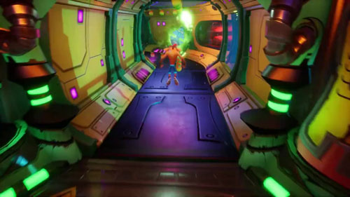 《古惑狼4》游戏截图