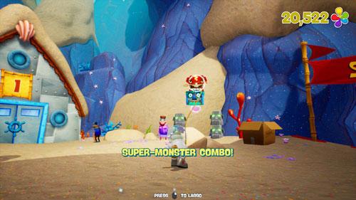海绵宝宝争霸比基尼海滩游戏截图
