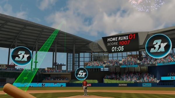 MLB本垒打德比VR截图5