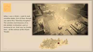 我的世界地下城复古风加载界面MOD截图0