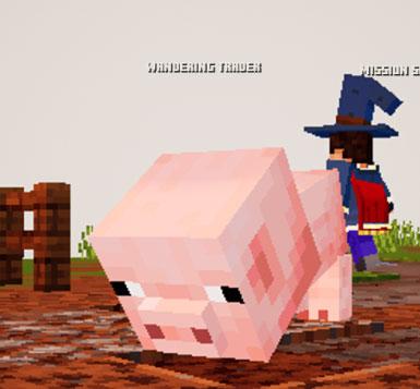我的世界地下城迷你小猪MOD截图0