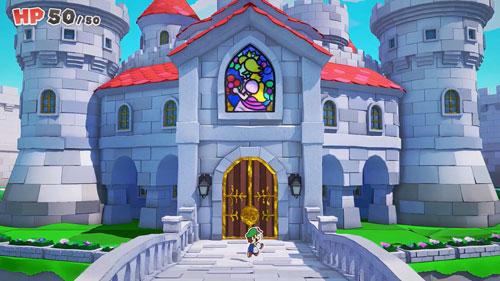 《纸片马力欧:折纸国王》游戏截图1