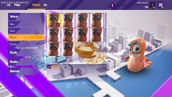 《百战天虫:大混战》游戏截图1