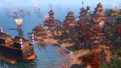 《帝国时代3》游戏截图