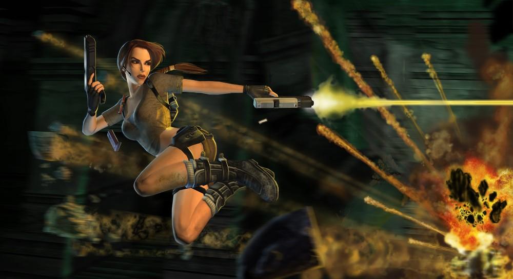 古墓丽影7游戏宣传图