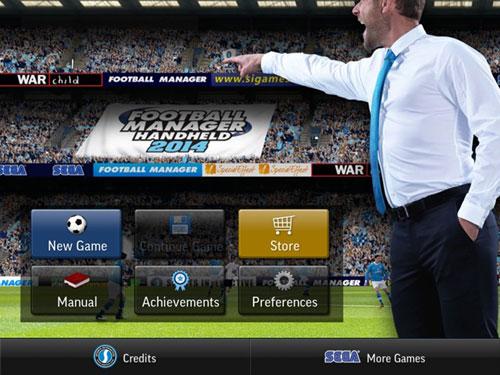 足球经理2014游戏截图1