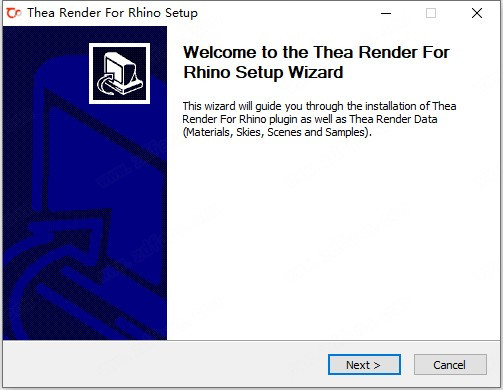 Thea For Rhino安装方法1