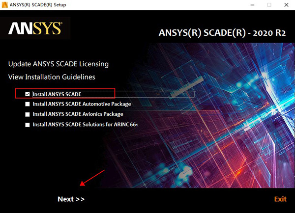 ANSYS SCADE Suite安装方法2
