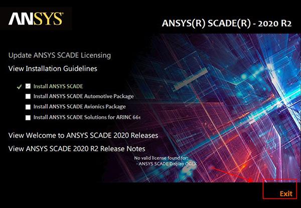 ANSYS SCADE Suite安装方法5