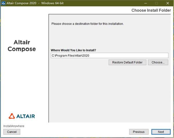 Altair Compose安装方法3