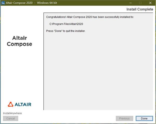 Altair Compose安装方法5