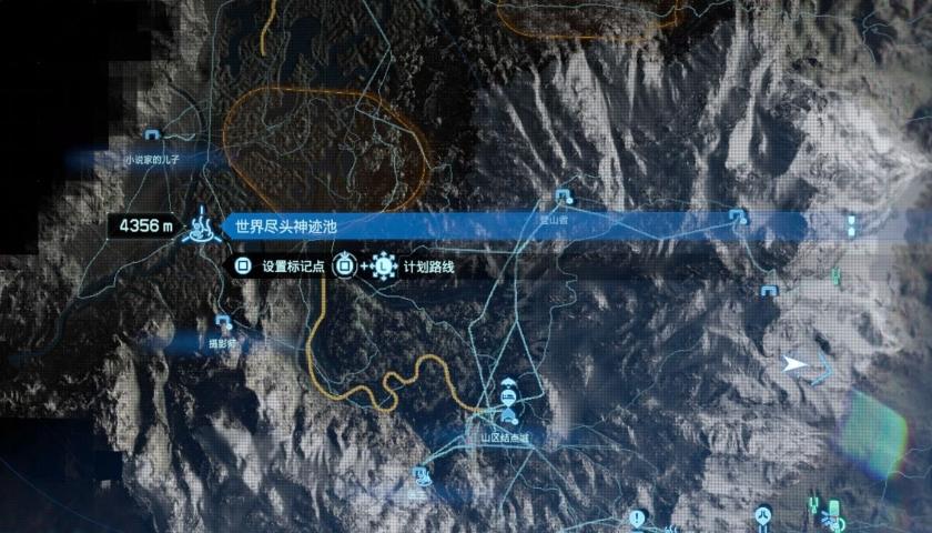 死亡搁浅地图截图3