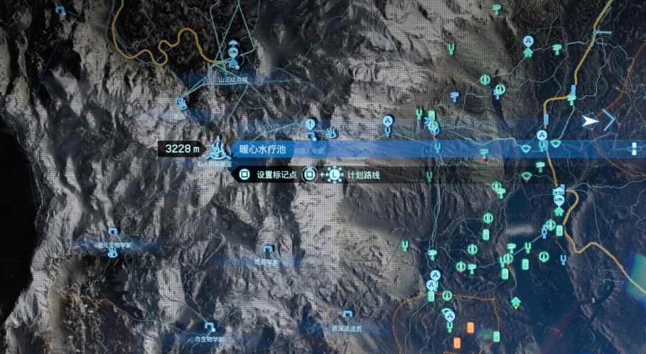 死亡搁浅地图截图5