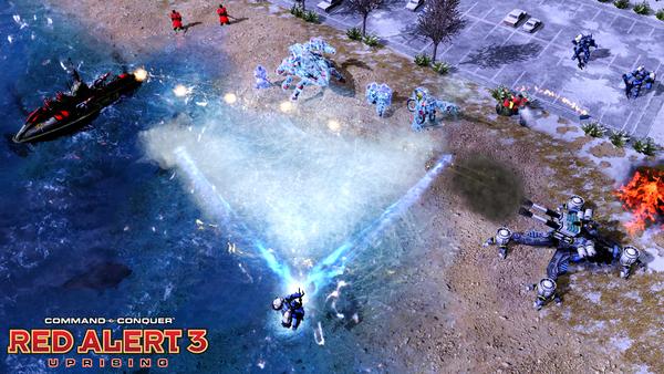 红色警戒3起义时刻游戏截图