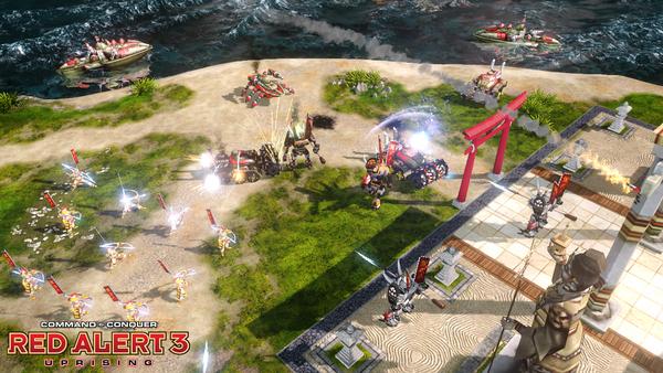 红色警戒3起义时刻游戏截图2