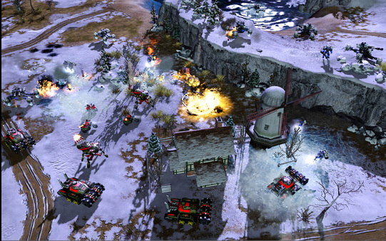 红色警戒3起义时刻游戏截图4