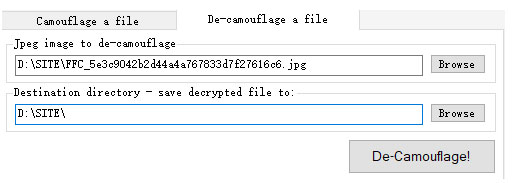 Free File Camouflage截图3