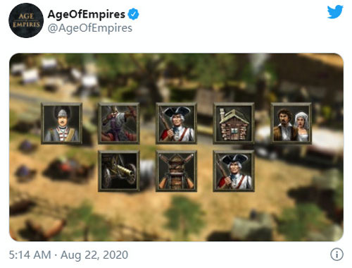 《帝国时代3:终极版》官推截图
