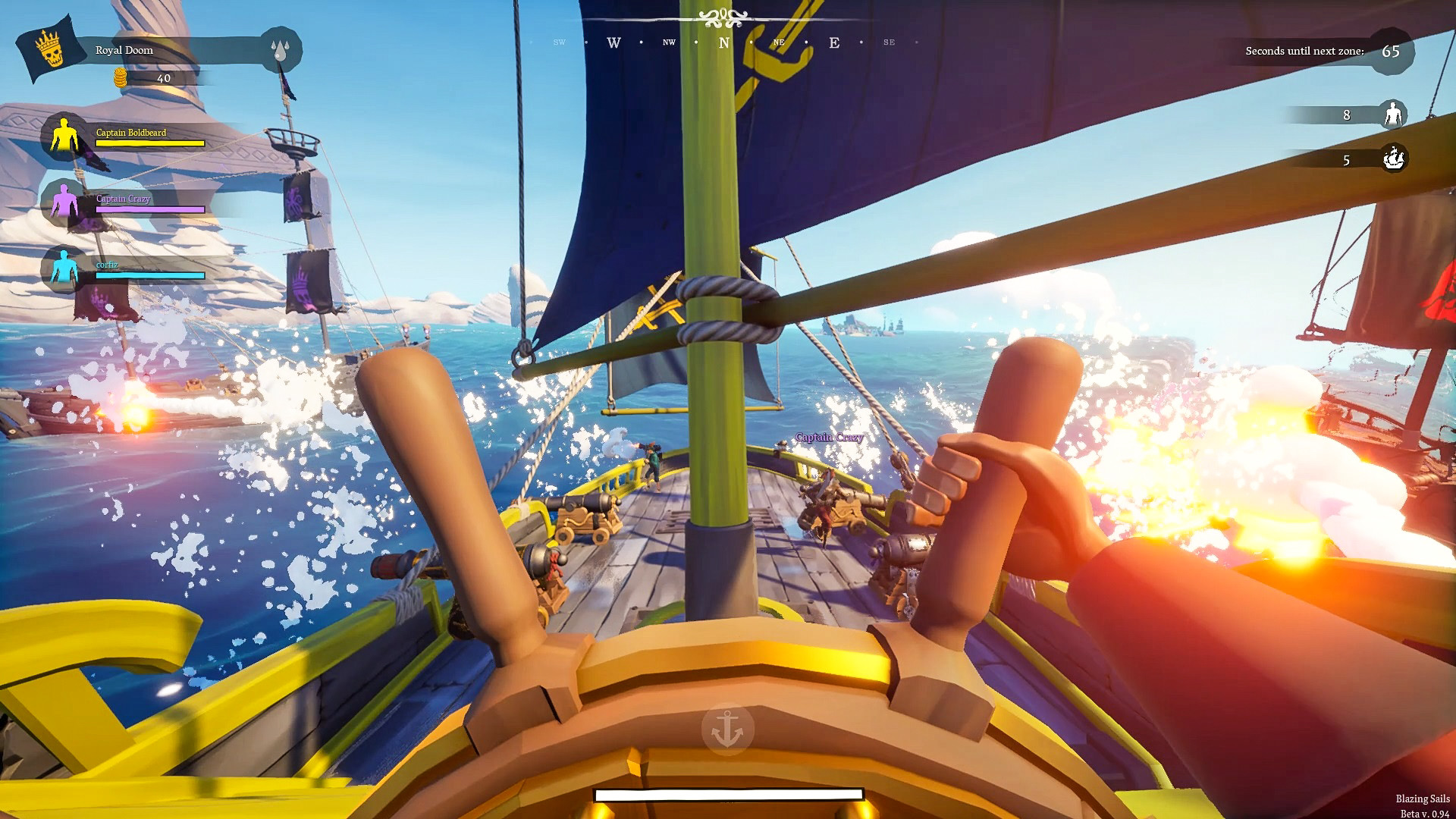 炽热之帆游戏截图