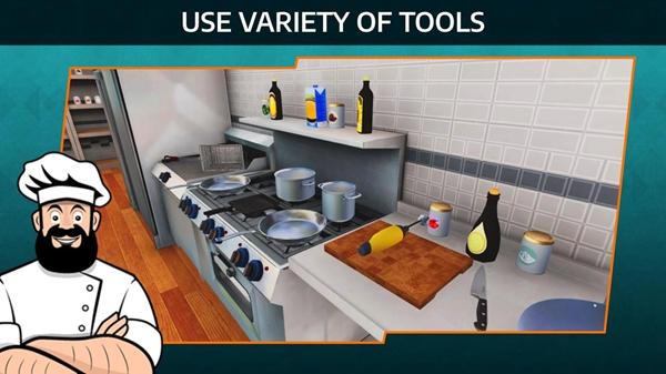 烹饪模拟器手机版截图0