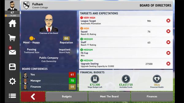 足球俱乐部经理2021截图1