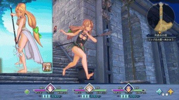 圣剑传说3重制版裸足莉丝MOD截图0