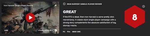 《钢铁收割》IGN评分