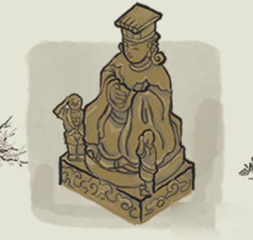 江南百景图妈祖神像