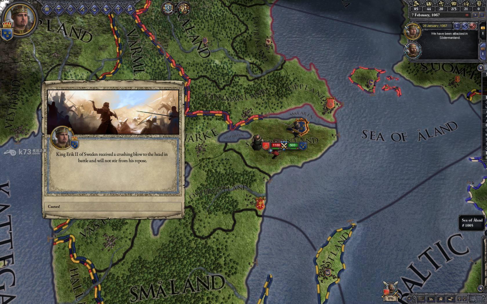 十字军之王3游戏截图