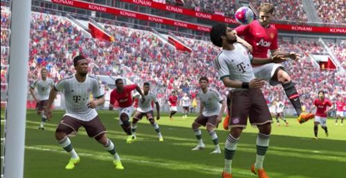 实况足球2015游戏截图