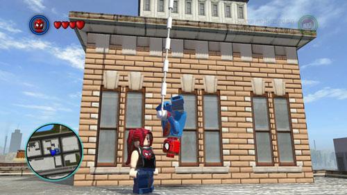 乐高漫威超级英雄游戏截图