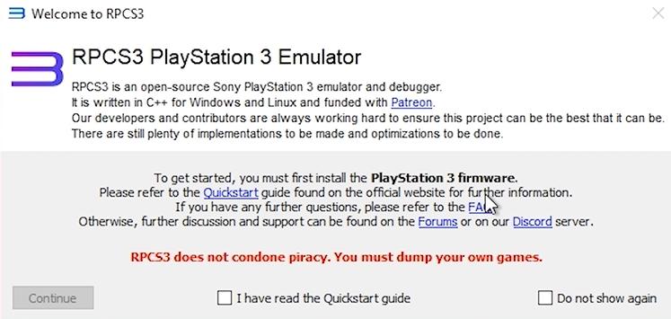 PS3模拟器稳定版截图0