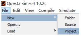 QuestaSim2020仿真教程�D3
