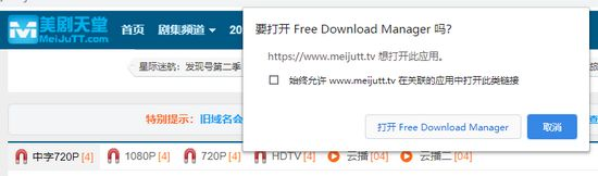 Free Download Manager Chrome插件�D片
