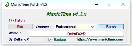 ManicTime Patch�D片1