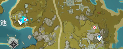 原神宝藏归离古代石碑位置图