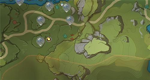原神琉璃百合南方丘陵分布地点